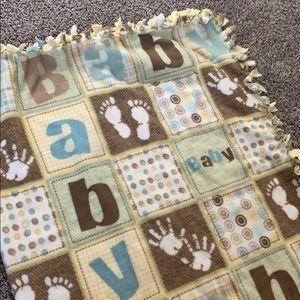 🎉HP 6/23!🎉NEW Handmade Baby Fleece Blanket